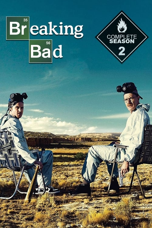 Cover of the Season 2 of Breaking Bad