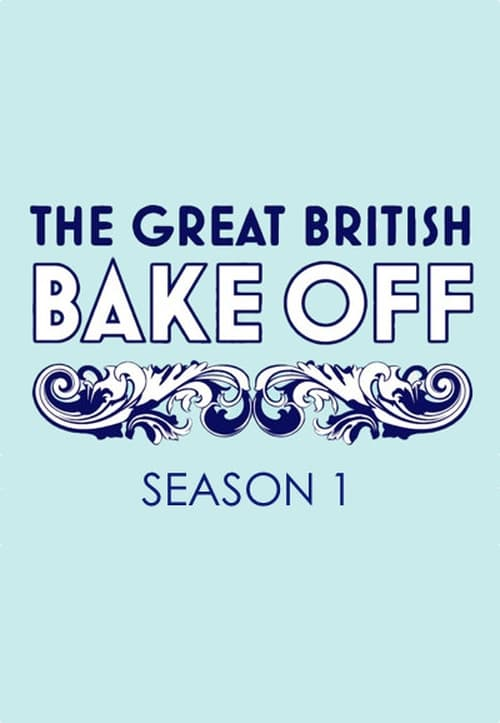 Cover of the Series 1 of The Great British Bake Off