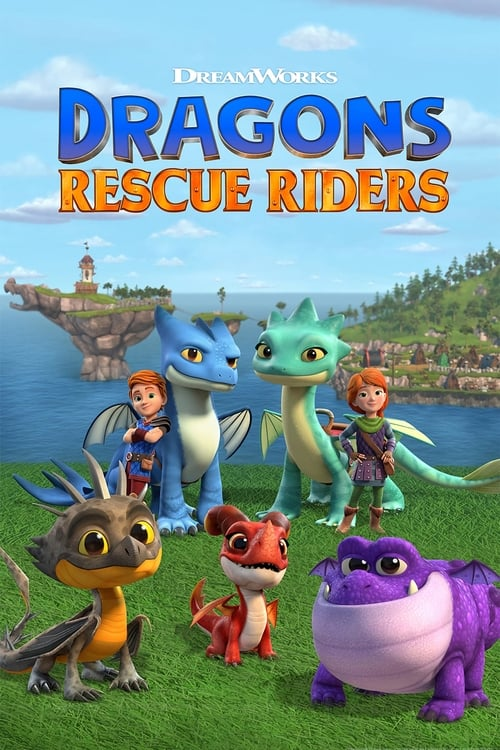 Cover of the Season 1 of Dragons: Rescue Riders
