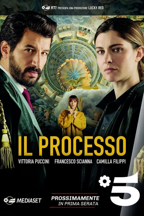 Cover of the Season 1 of The Trial
