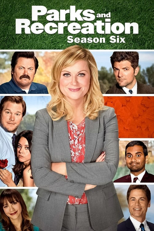 Cover of the Season 6 of Parks and Recreation