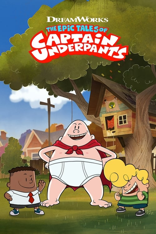 Cover of the Season 1 of The Epic Tales of Captain Underpants