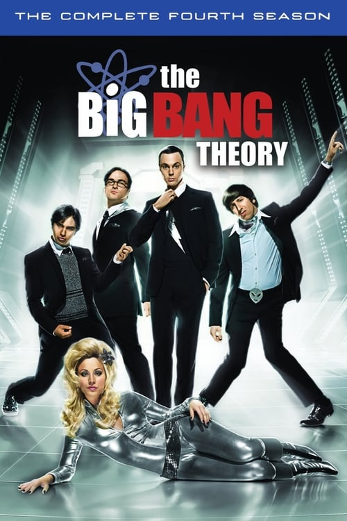 Cover of the Season 4 of The Big Bang Theory