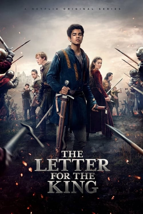 Cover of the Season 1 of The Letter for the King