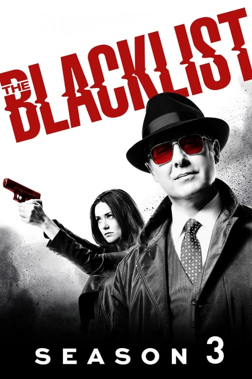 Cover of the Season 3 of The Blacklist