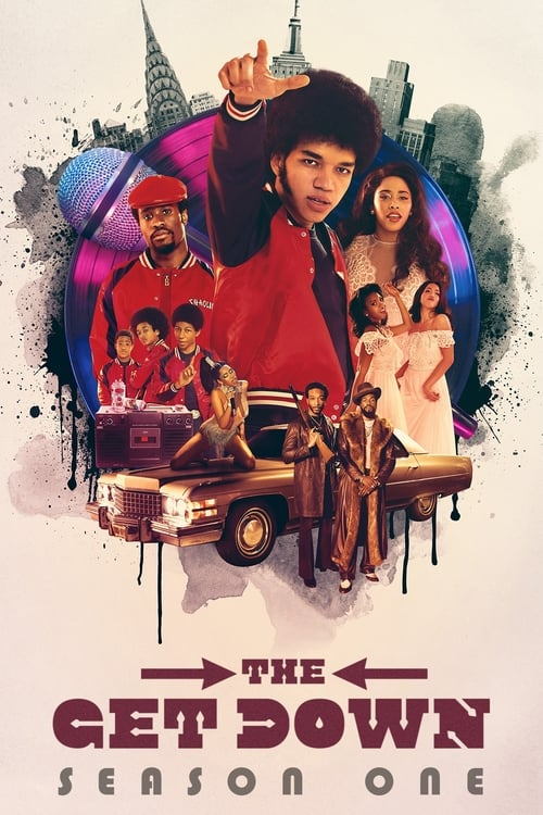 Cover of the Season 1 of The Get Down