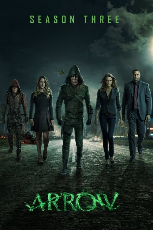 Cover of the Season 3 of Arrow