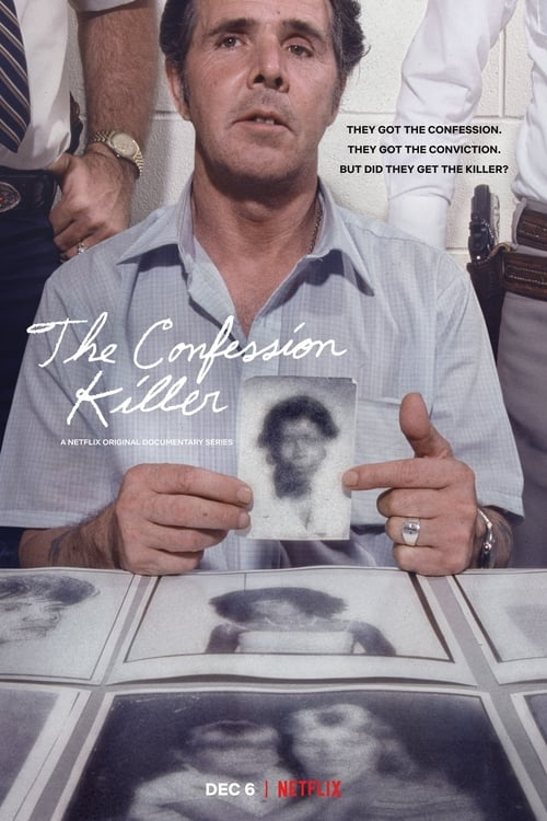Cover of the Season 1 of The Confession Killer