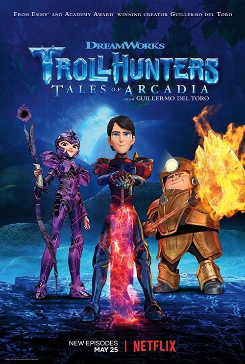Cover of the Part 3 of Trollhunters: Tales of Arcadia