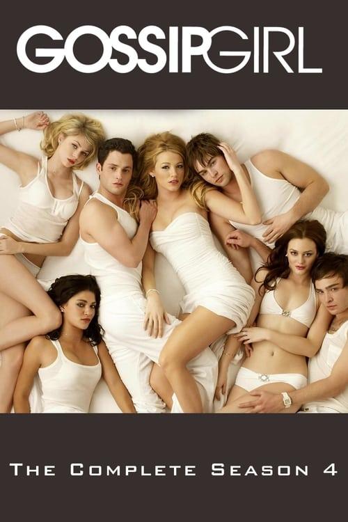 Cover of the Season 4 of Gossip Girl