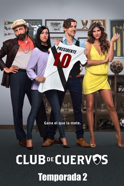 Cover of the Season 2 of Club de Cuervos