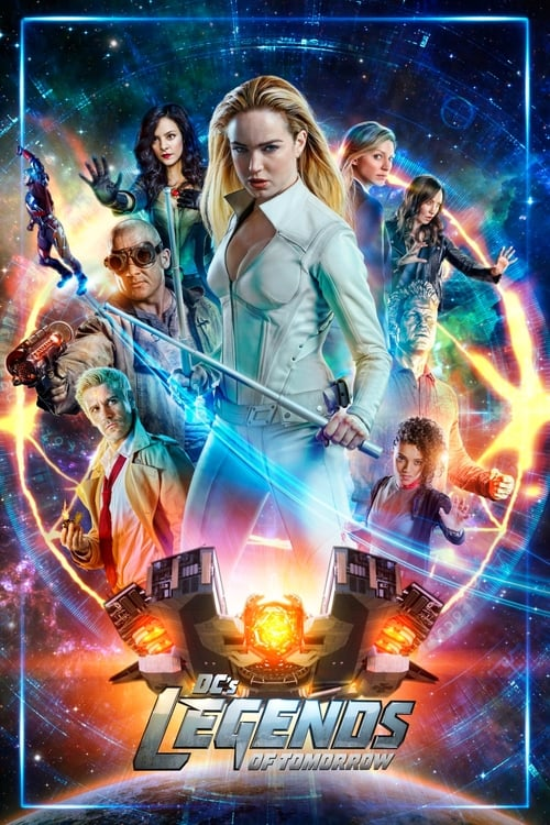 Cover of the Season 4 of DC's Legends of Tomorrow