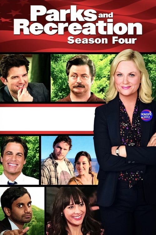 Cover of the Season 4 of Parks and Recreation