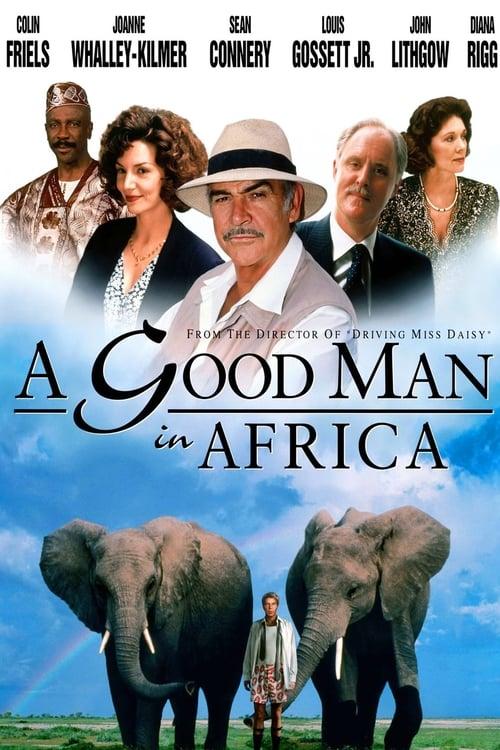 Správny chlap v Afrike