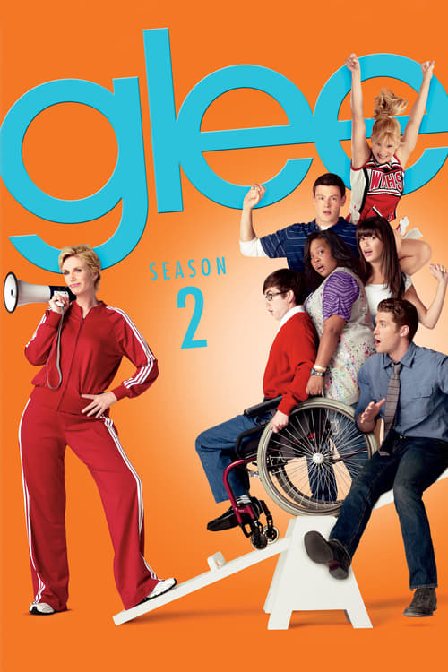 Cover of the Season 2 of Glee