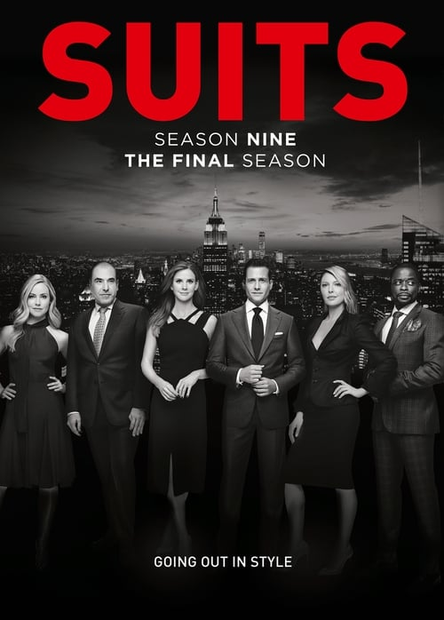 Cover of the Season 9 of Suits