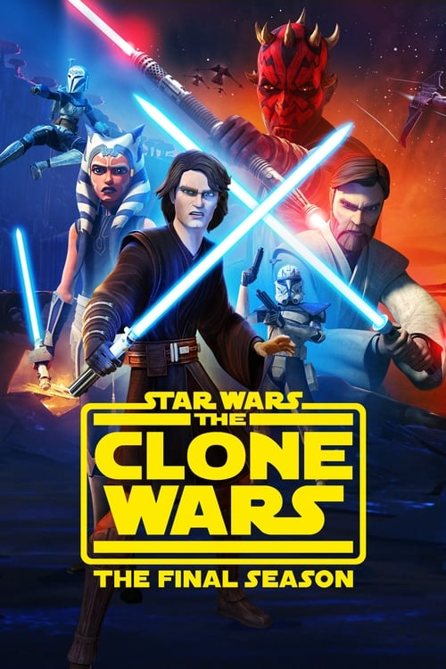 Cover of the Season 7 of Star Wars: The Clone Wars