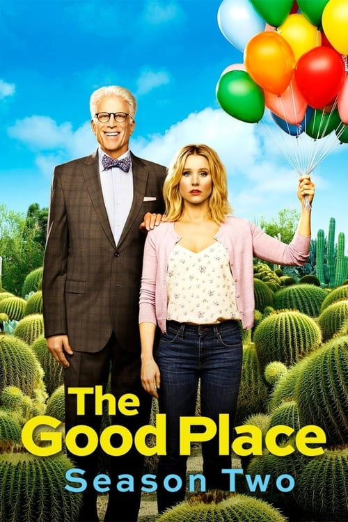 Cover of the Season 2 of The Good Place