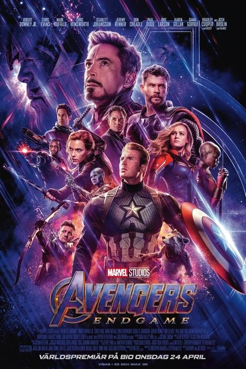 Poster för Avengers: Endgame - Banner
