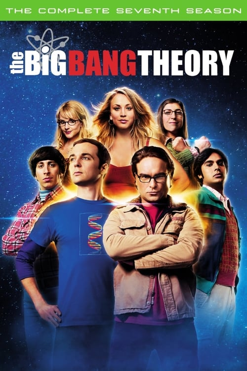 Cover of the Season 7 of The Big Bang Theory