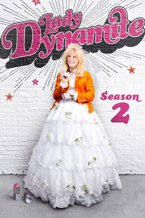 Cover of the Season 2 of Lady Dynamite