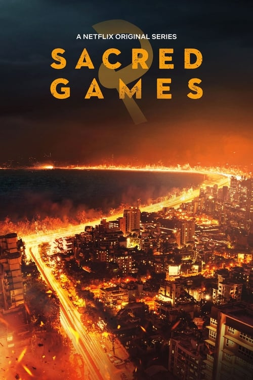 Cover of the Season 2 of Sacred Games