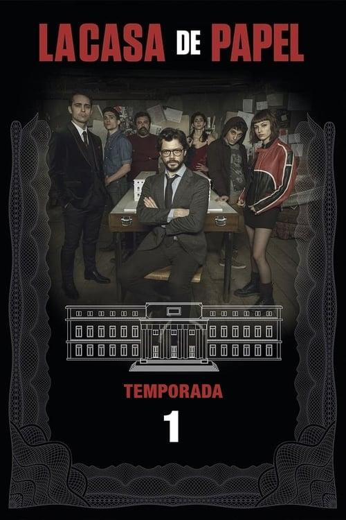 Cover of the Season 1 of Money Heist