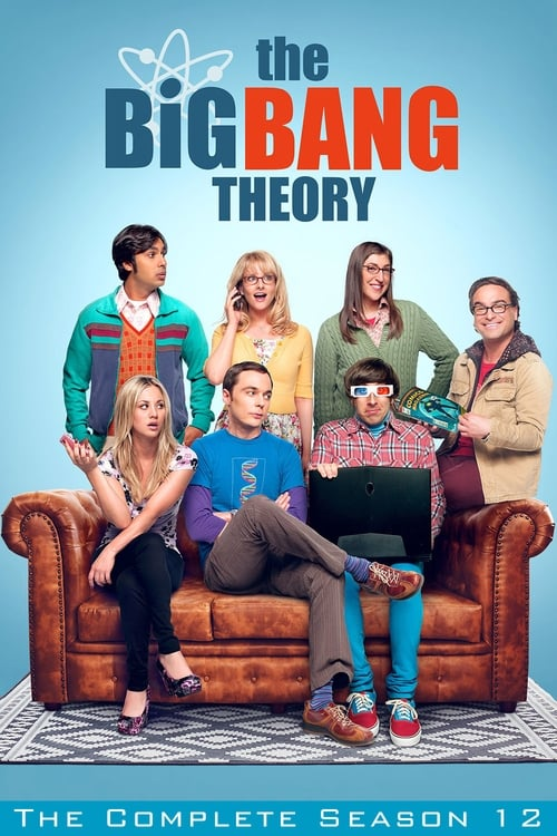 Cover of the Season 12 of The Big Bang Theory
