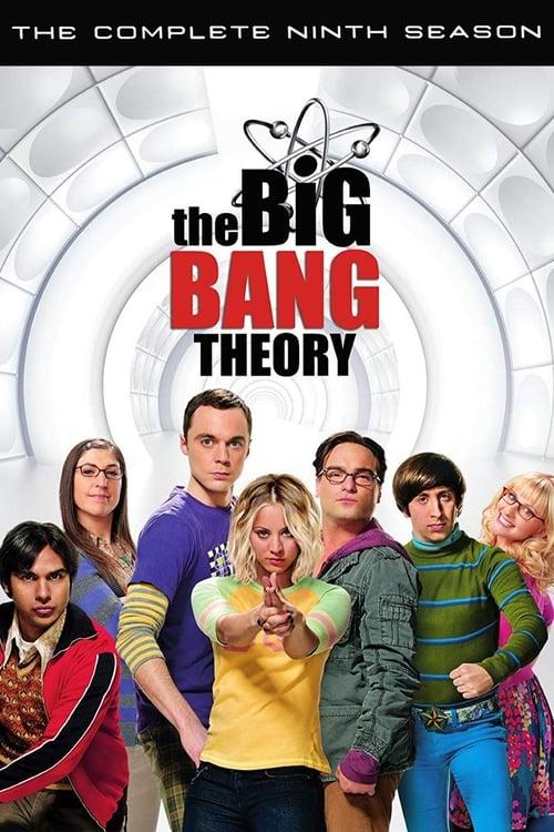Cover of the Season 9 of The Big Bang Theory