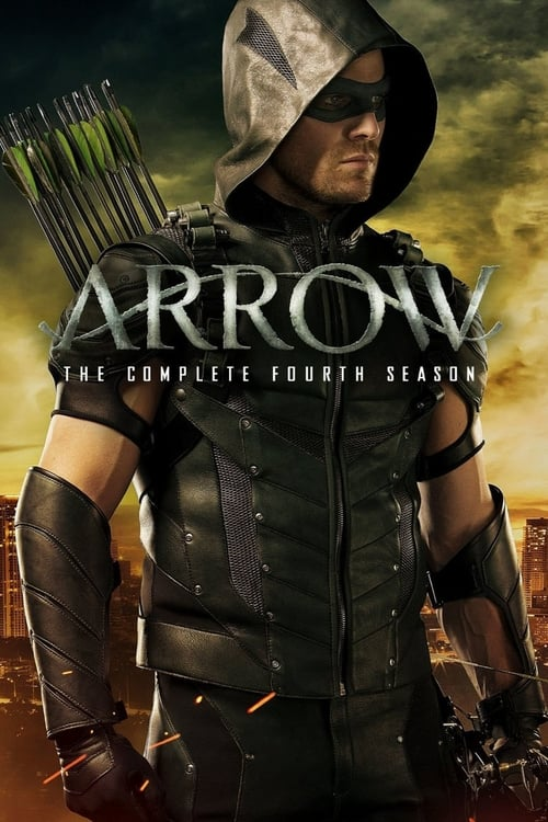 Cover of the Season 4 of Arrow