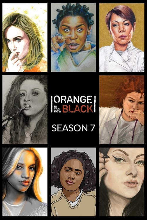 Cover of the Season 7 of Orange Is the New Black