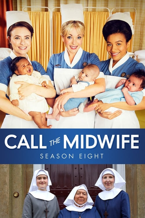 Cover of the Series 8 of Call the Midwife