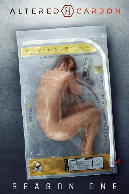 Cover of the Season 1 of Altered Carbon