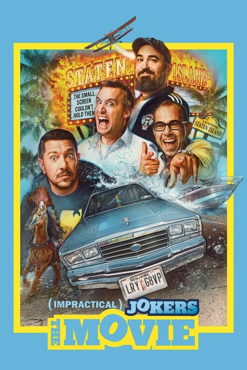 Impractical Jokers: The Movie (2020) Film complet HD Anglais Sous-titre