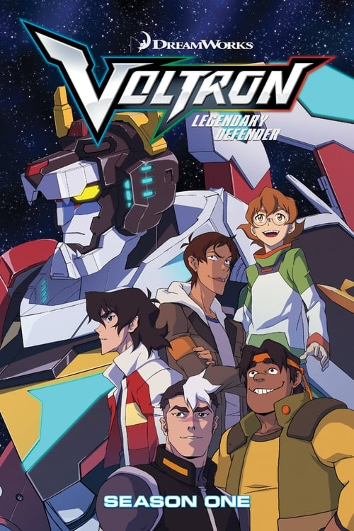Cover of the Season 1 of Voltron: Legendary Defender