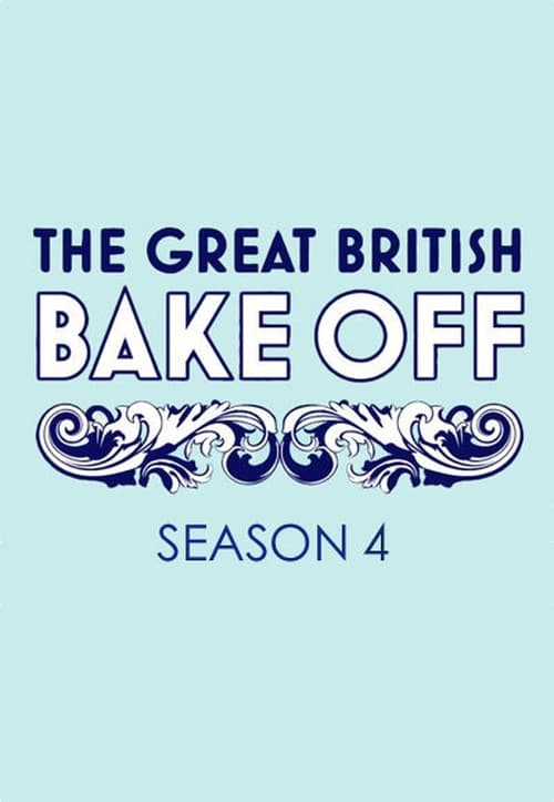 Cover of the Series 4 of The Great British Bake Off