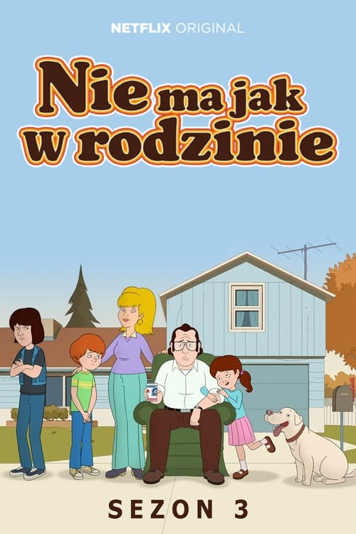 Cover of the Season 3 of F is for Family