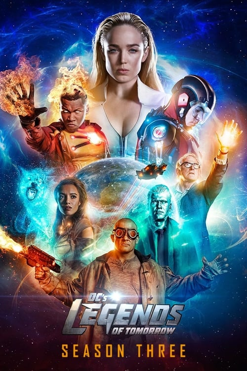Cover of the Season 3 of DC's Legends of Tomorrow