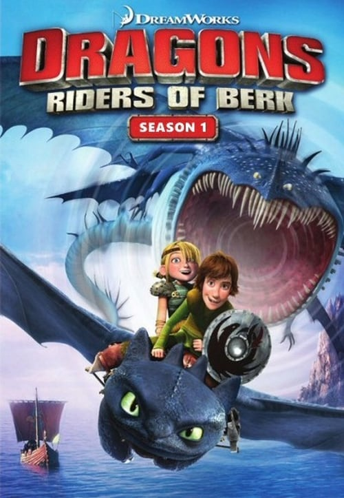 Cover of the Riders of Berk of DreamWorks Dragons