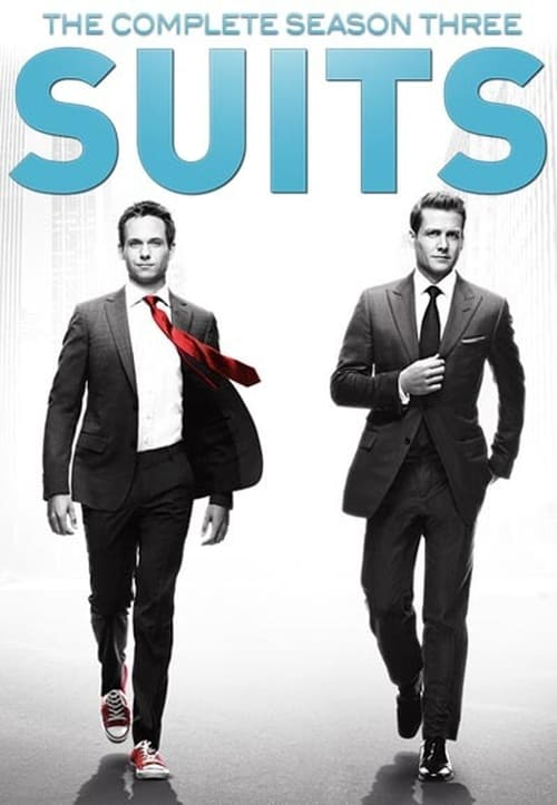Cover of the Season 3 of Suits
