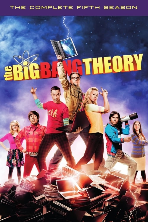 Cover of the Season 5 of The Big Bang Theory