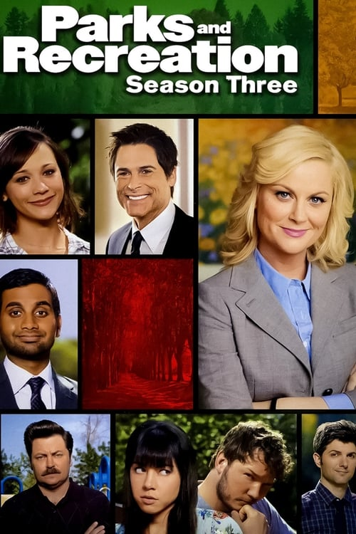 Cover of the Season 3 of Parks and Recreation