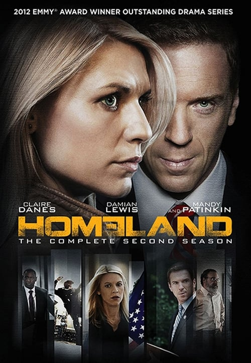 Cover of the Season 2 of Homeland