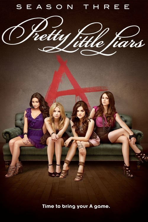 Cover of the Season 3 of Pretty Little Liars