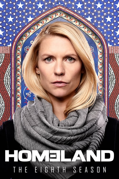 Cover of the Season 8 of Homeland