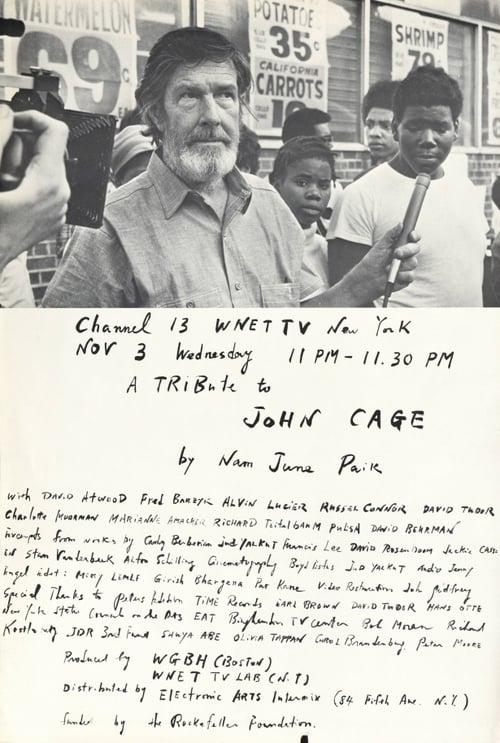 A Tribute to John Cage 1976