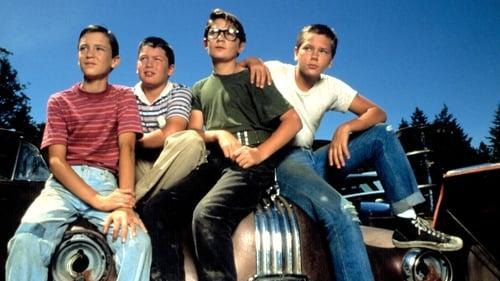 venes amigos salen de la ciudad en busca de un chico desaparecido Ver Cuenta conmigo (1986) Película Completa Online Subtitulada