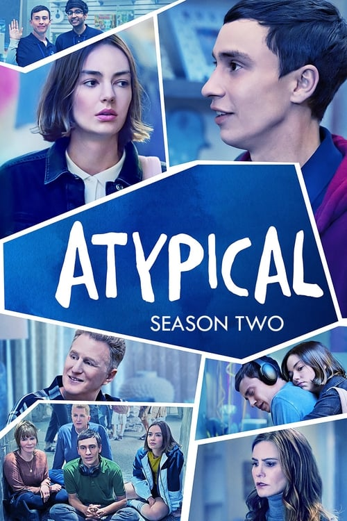 Cover of the Season 2 of Atypical