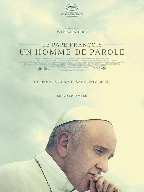 Le Pape François – Un Homme de Parole (2018) Film complet HD Anglais Sous-titre