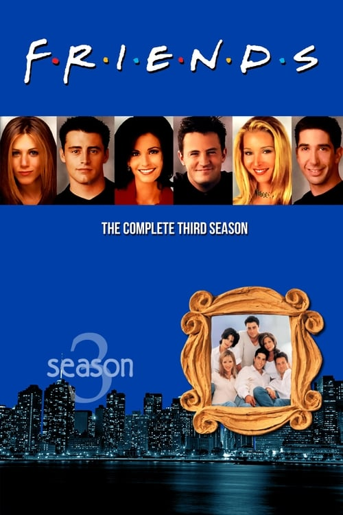 Cover of the Season 3 of Friends